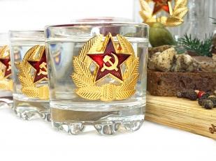 Подарочный графин и стопки Советский