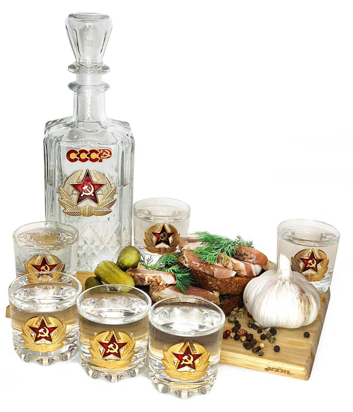 Набор для спиртных напитков Гвардия СССР