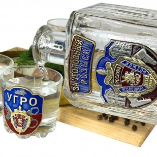Подарочный набор для алкогольных напитков УГРО