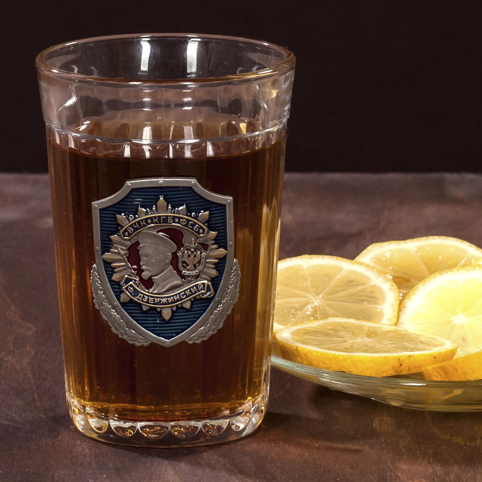 """Гранённый стакан """"ФСБ"""" по лучшей цене"""