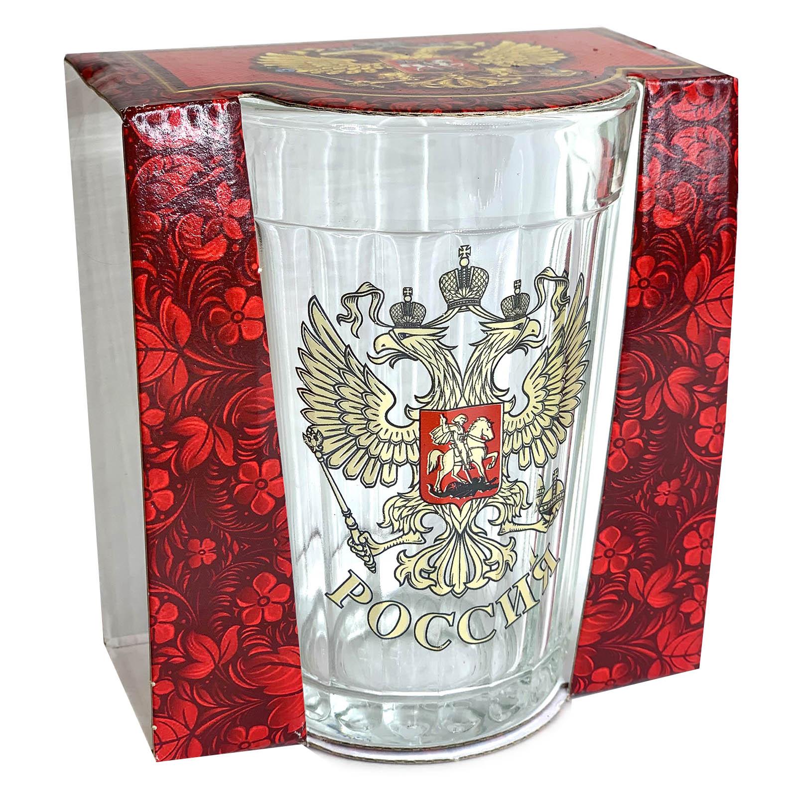 Гранёный стакан Россия