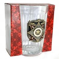 Граненый стакан 100 лет Вооруженным силам