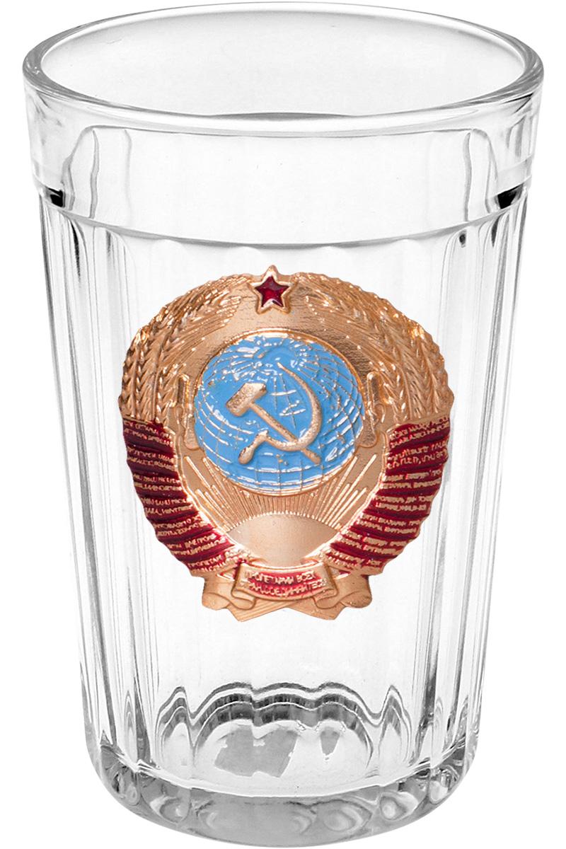 """Гранёный стакан """"Герб СССР"""""""