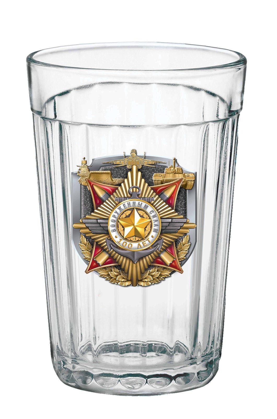 Гранёный стакан к 100-летию ВС России