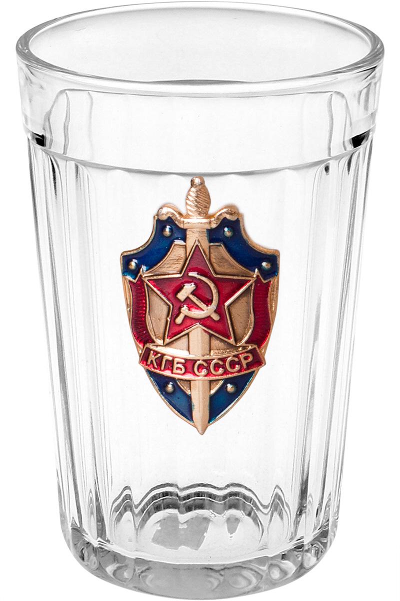"""Гранёный стакан """"КГБ СССР"""""""