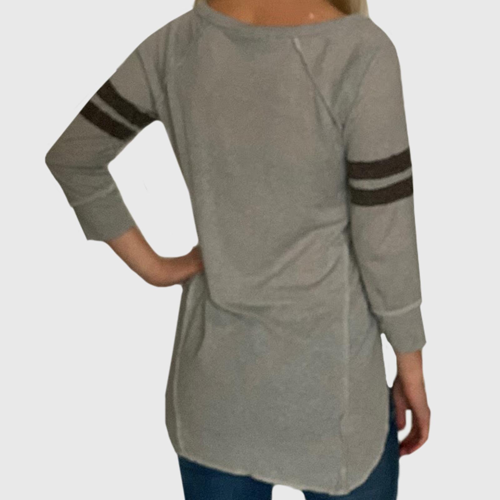 Женская серая кофта Almost Famous с укороченными рукавами