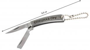 """Гравированный ножик """"Спецназ ГРУ"""" - общая длина"""