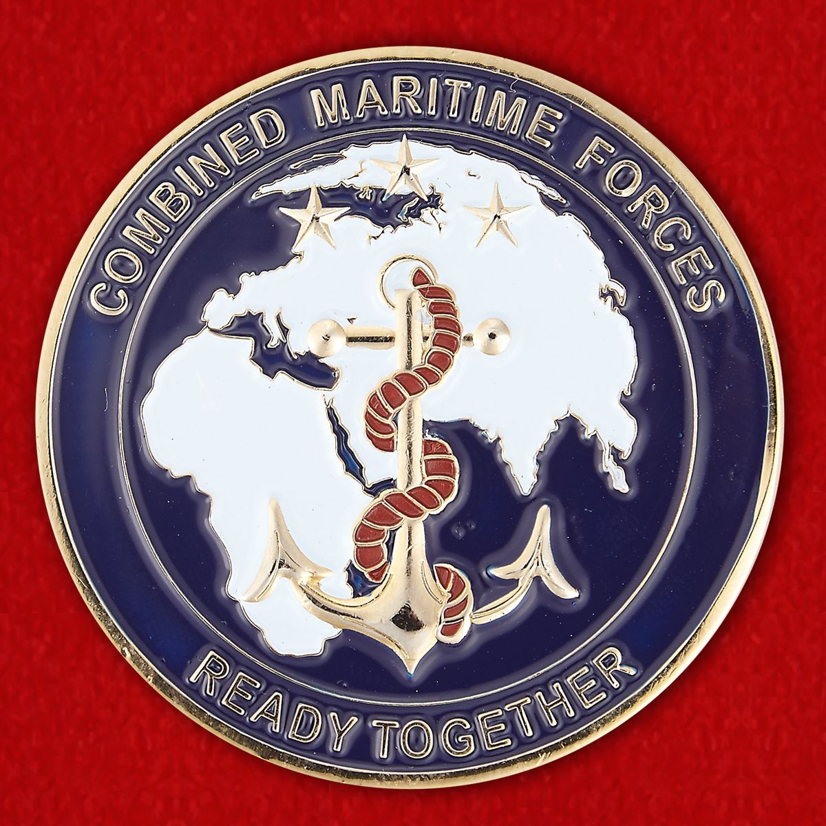 GTF-150 Combined Maritime Forces Challenge Coin