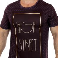 Характерная футболка Max Young Men. Благородный мужской Fashion Trend 2017