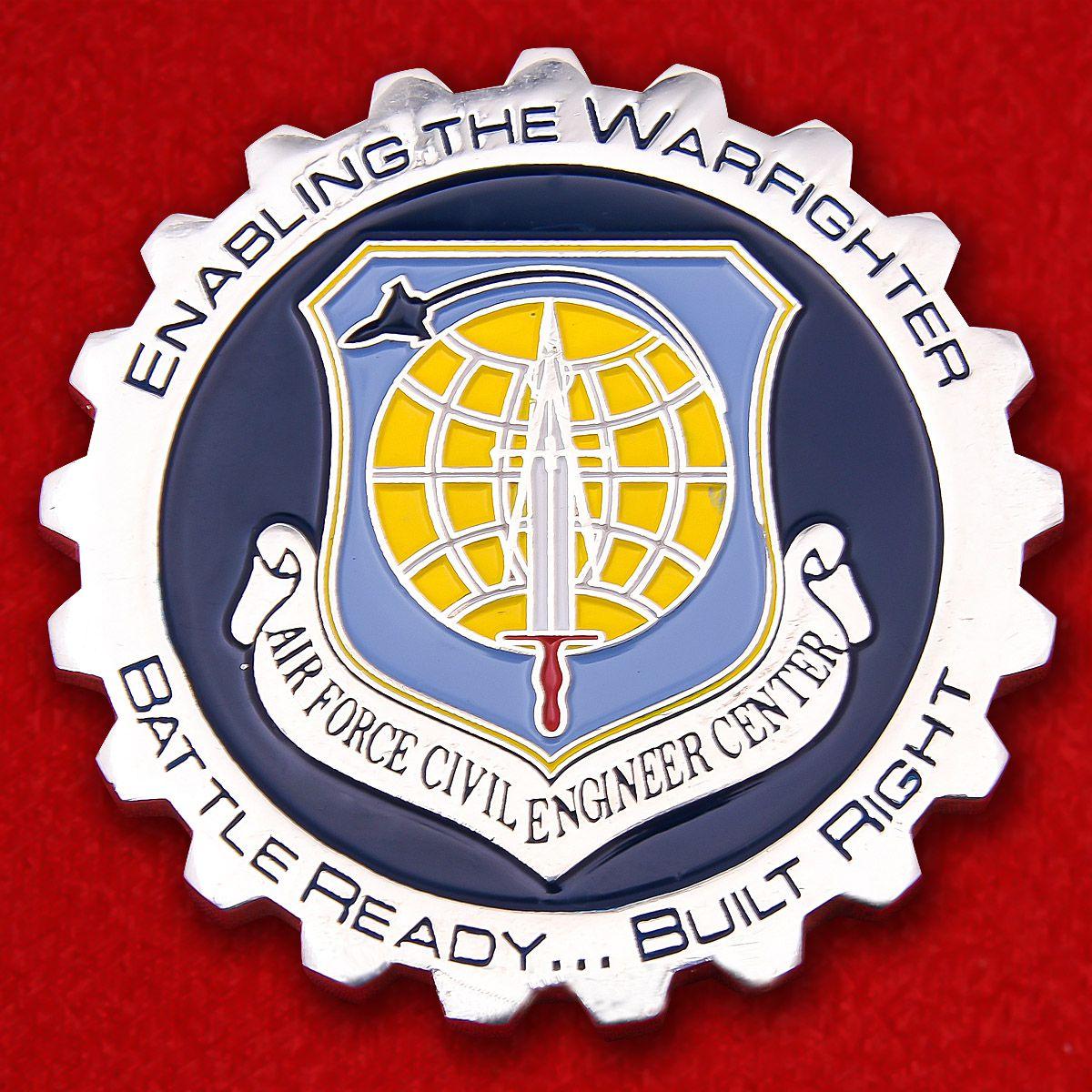 Челлендж коин ГосударственногоТехнического центра ВВС США