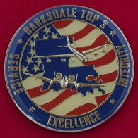Челлендж коин сержантского состава авиабазы Барксдейл ВВС США