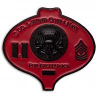 """Челлендж коин """"За отличие"""" роты C (Кобра) 1-го батальона 502-го пехотного полка 2-й БрТГ 101-й ВДД Армии США"""