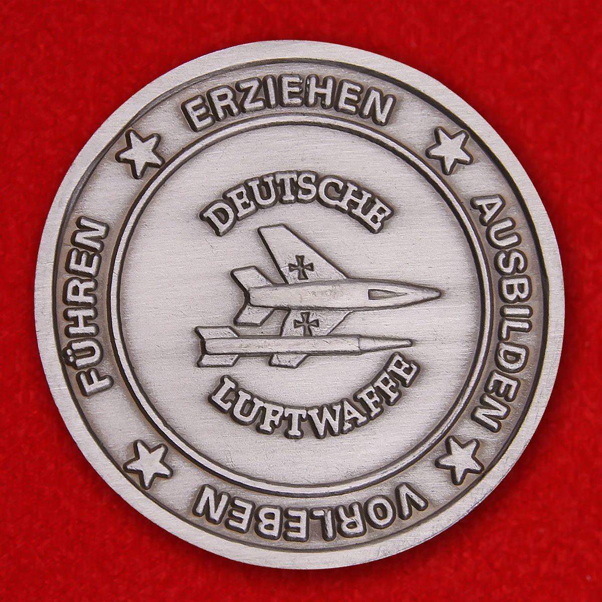 """Herausforderungs-Münze """"Offizierschule der Luftwaff"""""""