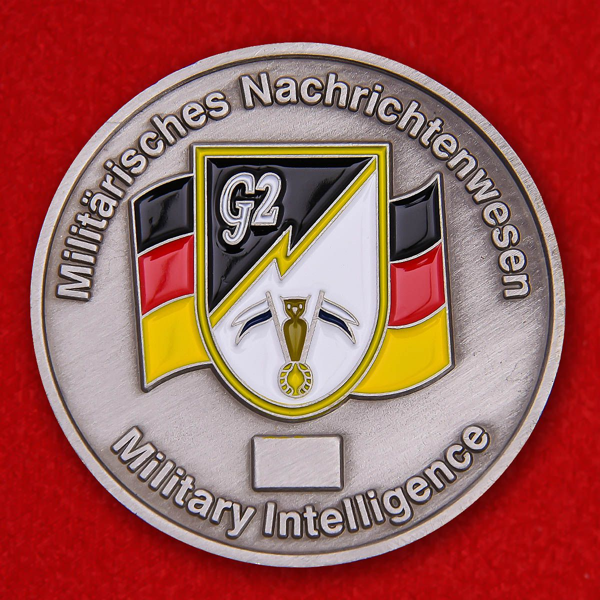 "Herausforderungs-Münze ""Panzerbrigade 12 Oberpfalz"""