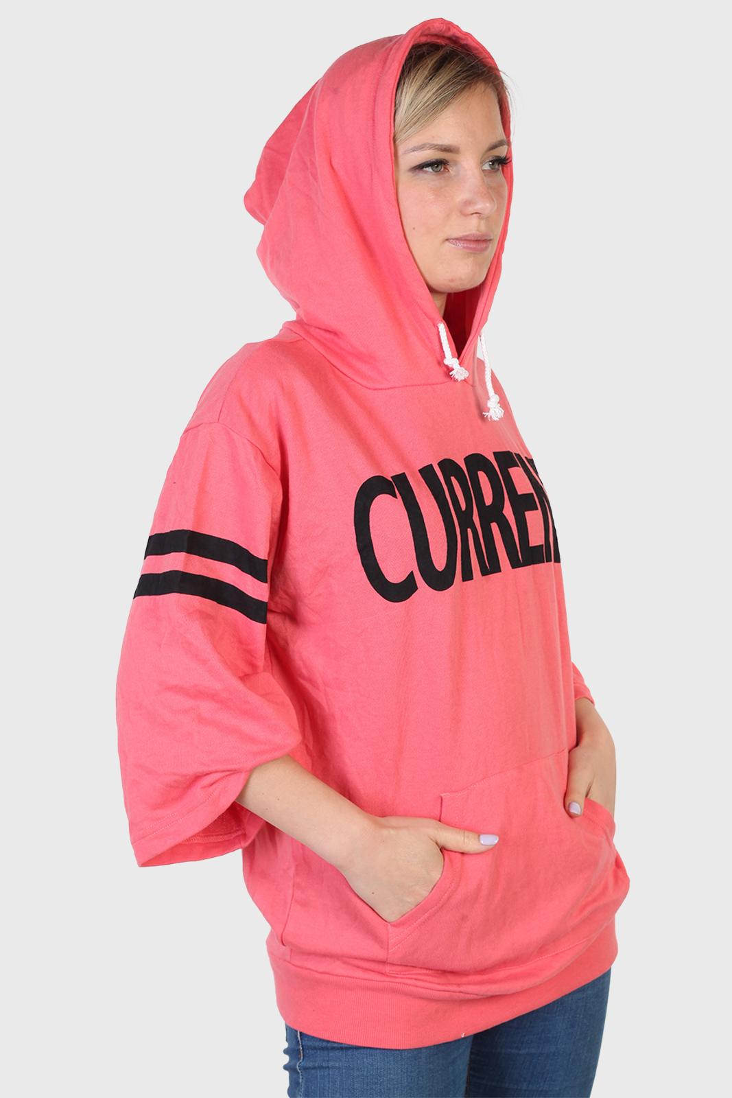 Женская хип-хоп кофта с капюшоном