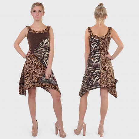 Платье-асимметрия Sand Studio.