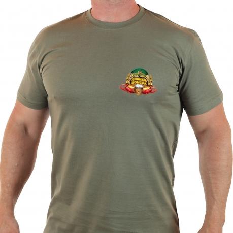 ХИТ! Мужская футболка Пивные Войска.