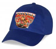 """Хит сезона! Актуальная бейсболка """"Russia"""" из 100% хлопка. Яркий цвет устойчив к выгоранию, размер универсален. Модель от дизайнера! Заказывай и будь в центре событий!"""