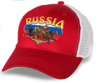 """Хит сезона! Бейсболка """"Russia"""" с медведем на тройке! Оценят и патриоты, и болельщики. Заказывайте, предложение ограничено!"""