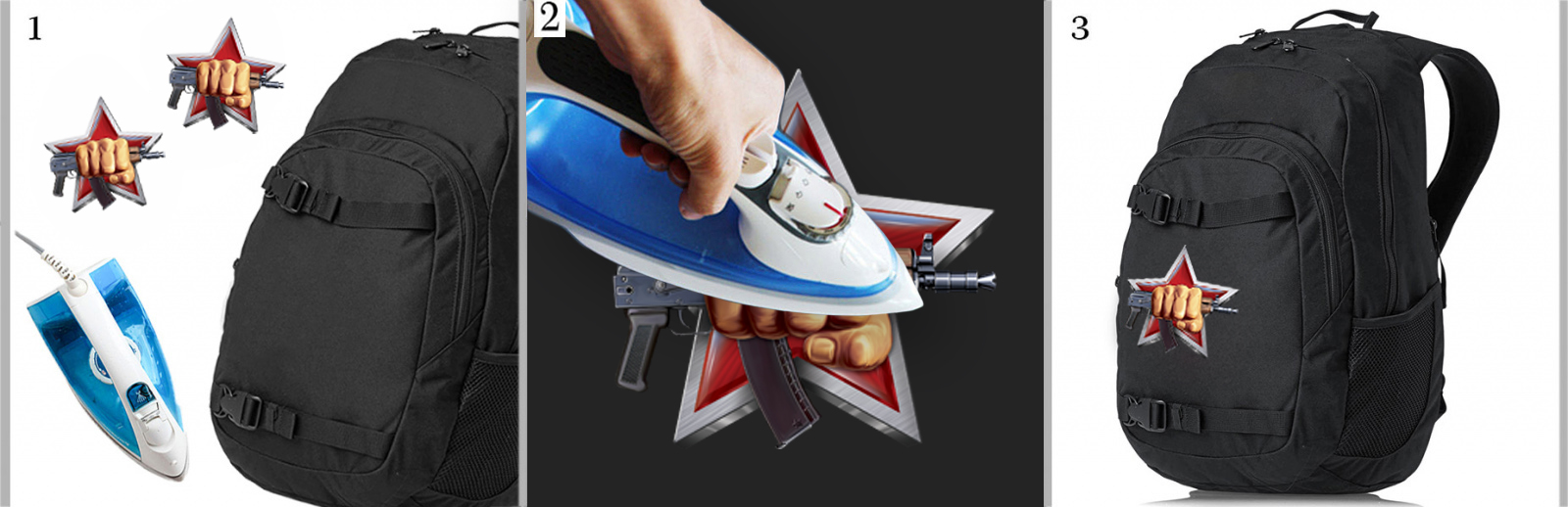 Хитовая наклейка-термотрансфер на футболку Спецназ ВВ РФ - заказать выгодно