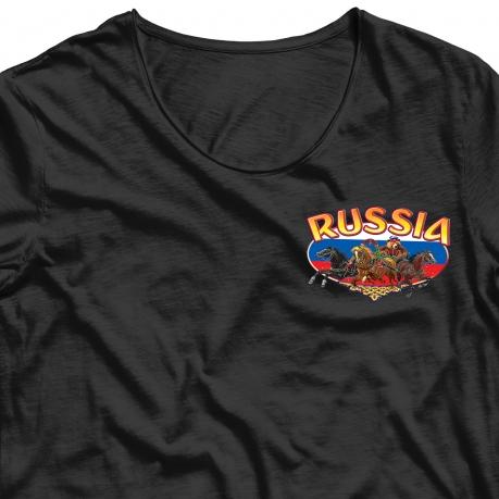 Хитовая наклейка-термотрансфер на футболку Тройка - купить с доставкой