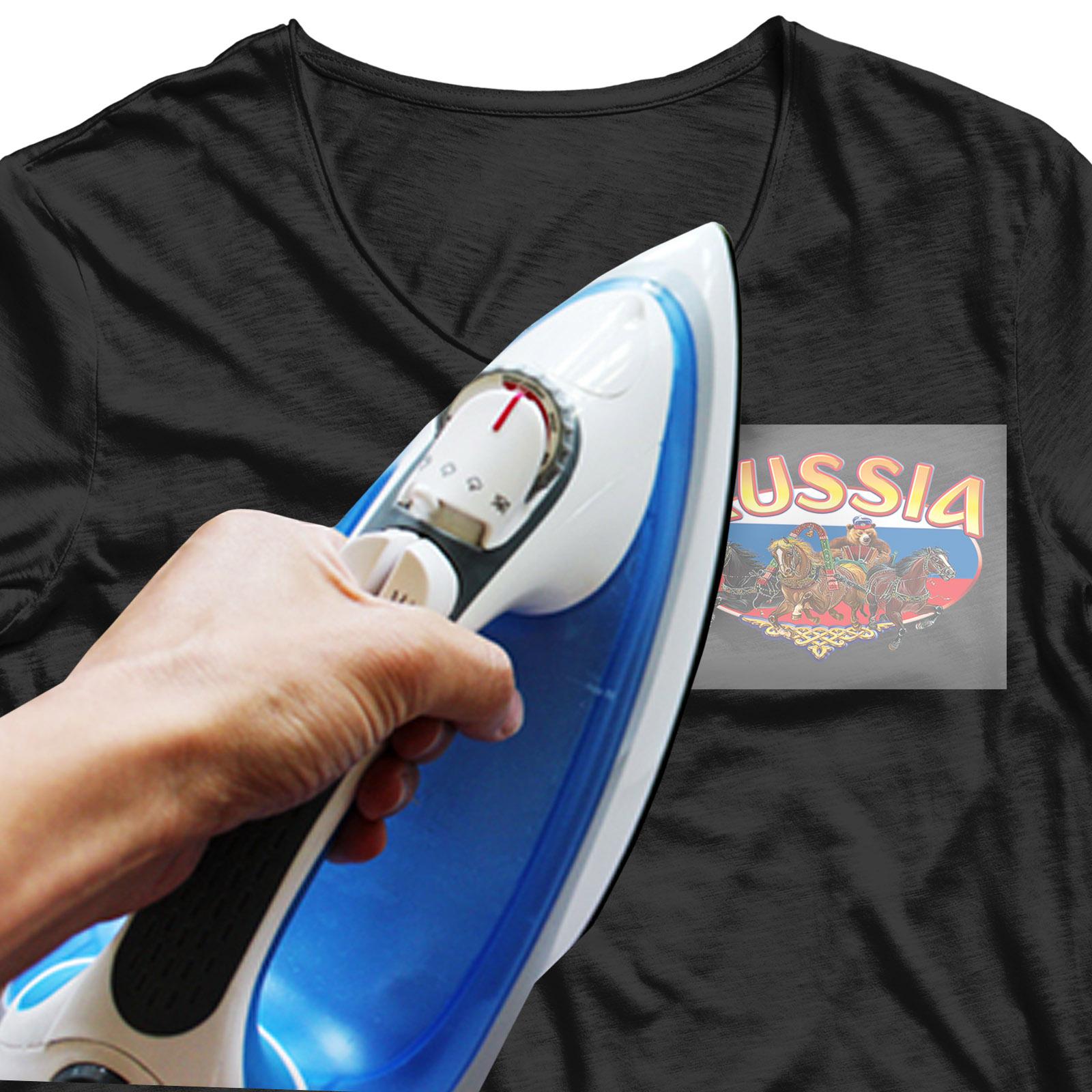 Хитовая наклейка-термотрансфер на футболку Тройка - купить оптом