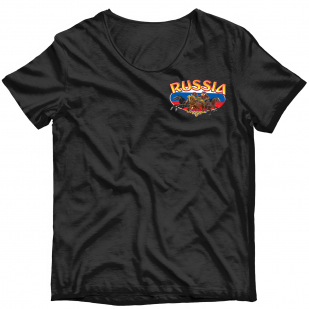 Хитовая наклейка-термотрансфер на футболку Тройка - купить в розницу