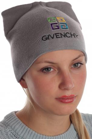 Хитовая женская шапка Givenchy уникального дизайнерского варианта
