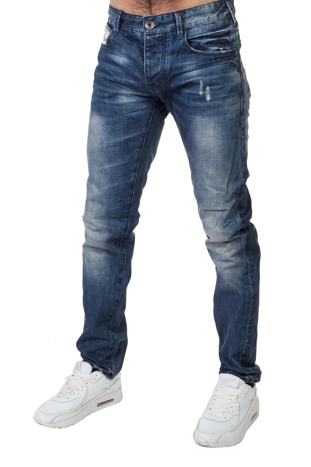 Брендовые итальянские джинсы с потертостями