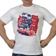 Хлопковая мужская футболка МВД