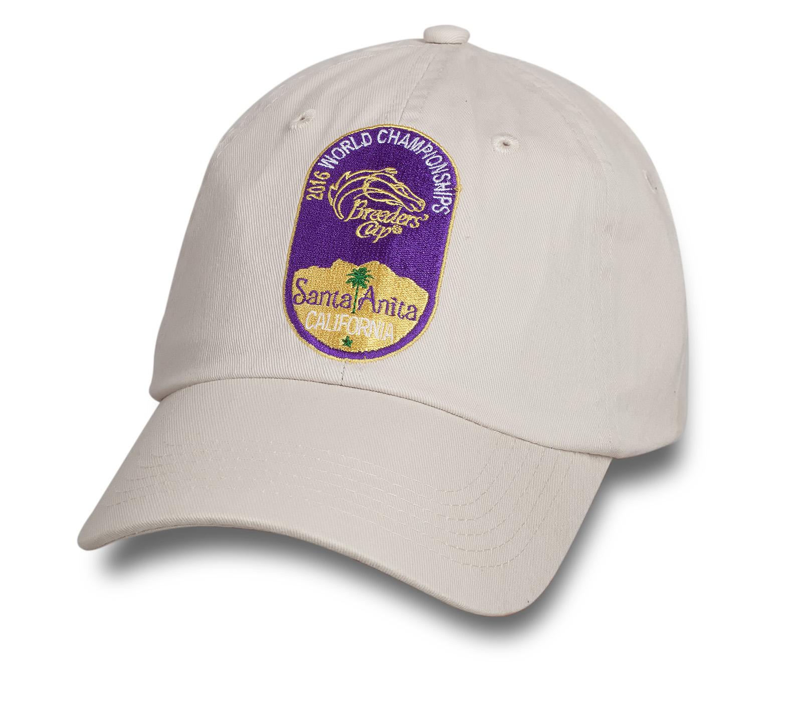 Хлопковая бейсболка от BREEDERS CAP