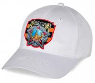 Хлопковая белая кепка с принтом ордена Победы - оригинальный патриотический подарок к предстоящему параду на Красной площади. Покупайте только лучшее!