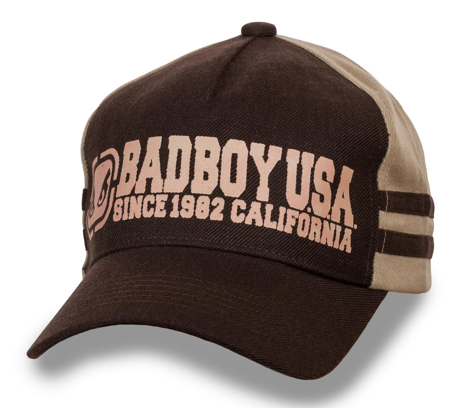 Хлопковая детская кепка BAD BOY.