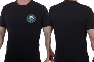 Хлопковая футболка  с вышитым шевроном Донская Казачья - купить с доставкой