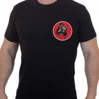 Хлопковая футболка  с вышивкой СТРАЙКБОЛ