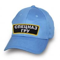 Хлопковая голубая кепка Спецназ ГРУ