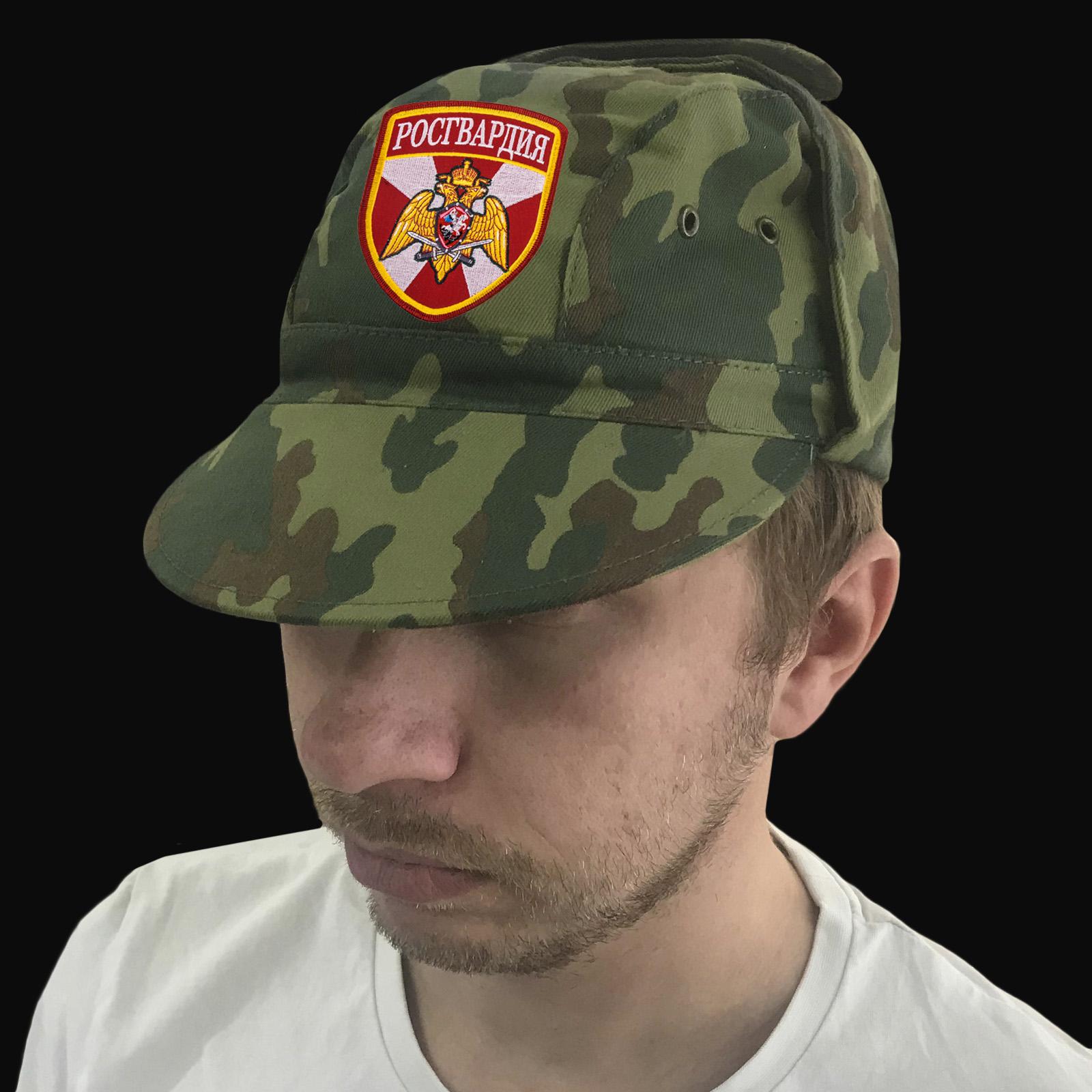Военная хлопковая кепка «Росгвардия»
