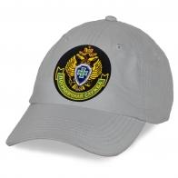 Хлопковая кепка с вышитой эмблемой Погранслужбы