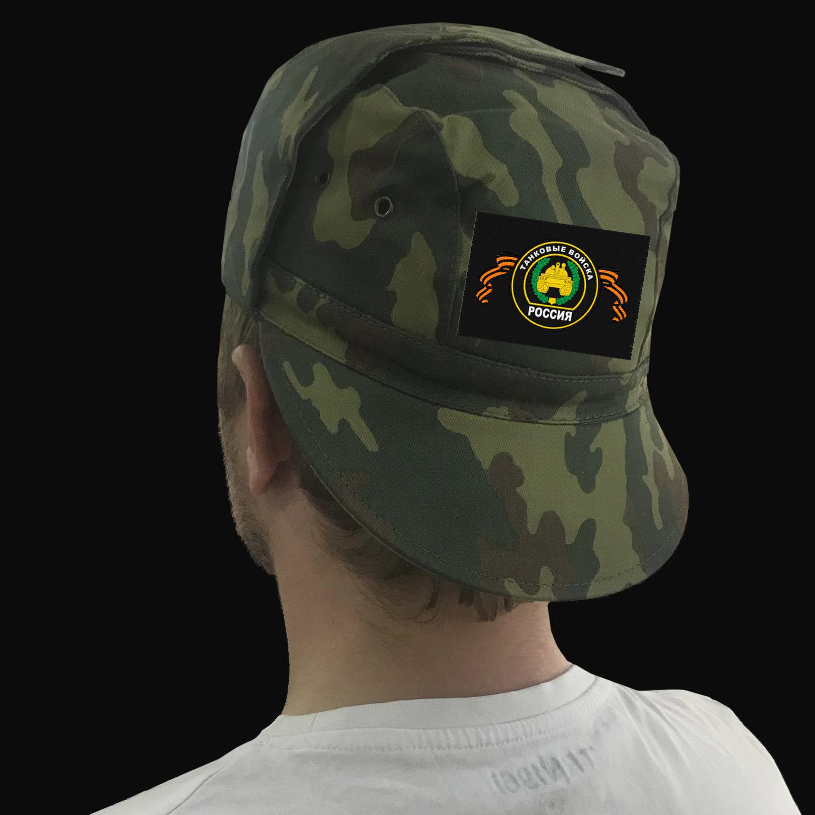 Камуфляжная кепка для танкиста – наличие в Москве
