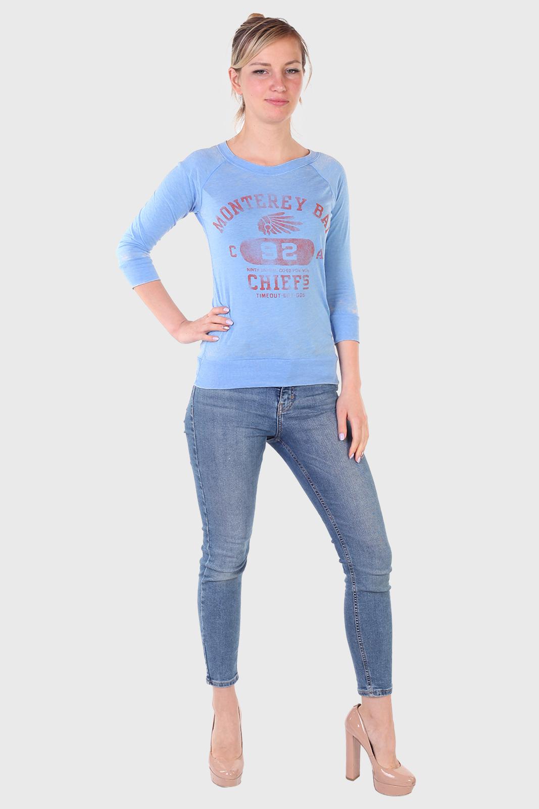 Голубая женская кофточка от ТМ TimeOut