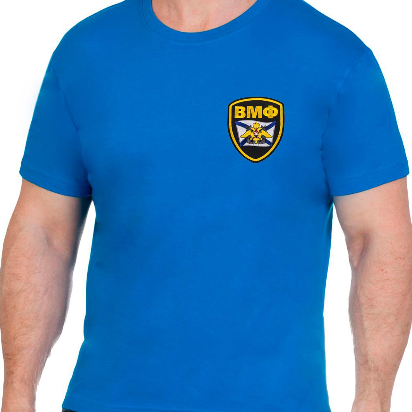 Хлопковая оригинальная футболка ВМФ
