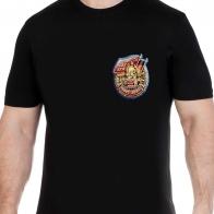 Хлопковая строгая футболка  с эмблемой ГСВГ