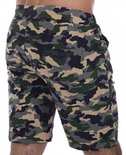 Хлопковые шорты камуфляж для Спецназа
