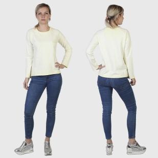Хлопковый женский лонгслив Pepe Jeans