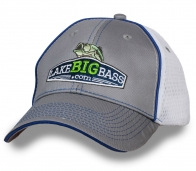 """""""Рыболовная"""" бейсболка от Lake Big Bass!"""
