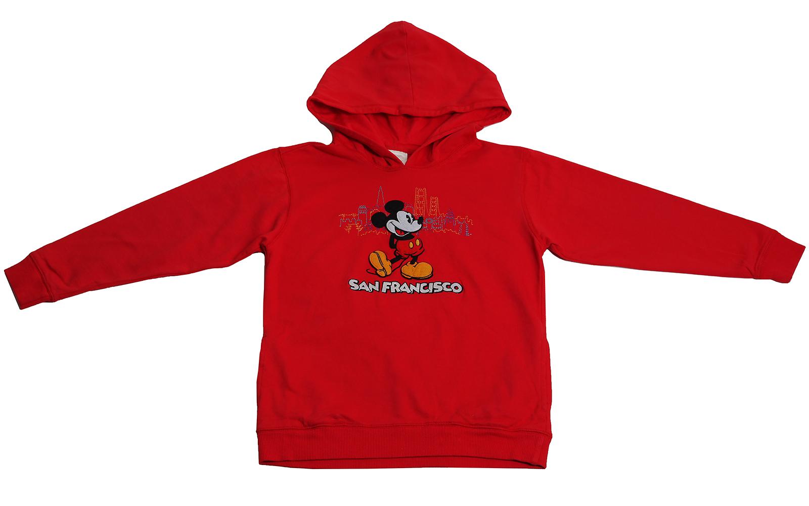 Худи Disney с Микки-Маусом. Жизнерадостный цвет, модный и удобный дизайн