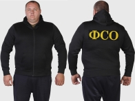 Форменная толстовка худи ФСО РФ.