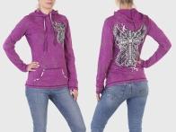 Брендовая женская кофта-худи Rock&Roll Cowgirl