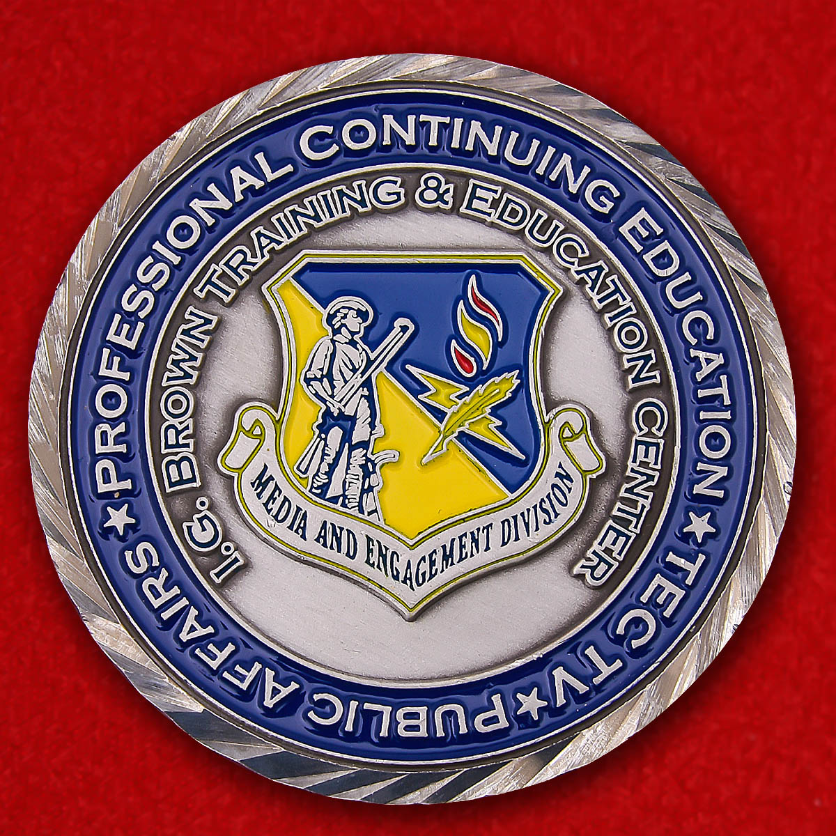 I.G. Brown Training & Education Center CMSGT Andrew D. Traugot Challenge Coin