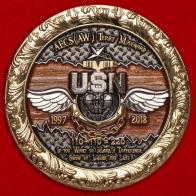 Именной челлендж коин первого главного старшины — авиационного электрика ВМС США Терри Мейнарда